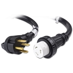 2-Pack 16AWG 3 Prong Power Cord 6 Feet