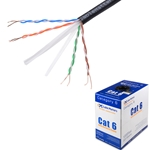1000ft Bulk Cat6 Cable UTP Solid, In-Wall Rated (CM), 550MHz,23AWG CableMatters CableMatters.com
