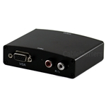 VGA and RCA Audio to HDMI Converter