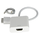 iPhone 4, iPad, iPod Touch (4th Generation) to HDMI Adapter