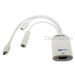 Micro USB to HDMI MHL Adapter for Samsung Galaxy S2, Samsung Infuse 4G, HTC Evo 3D, HTC Flyer Tablet, HTC Sensation Phone