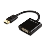 DisplayPort Male to DVI Female Adapter in Short Cable Format