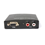 VGA and RCA Audio to HDMI Converter up to 720p