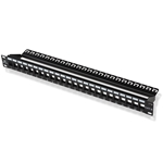 24 port Blank Patch Panel for Cat 6a (SFTP) CableMatters CableMatters.com