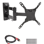 Articulating Arm TV Mount for 13-42 inch LCD/LED with 6 Feet High Speed HDMI Cable