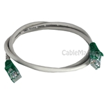 3ft Cat5E 350MHz Crossover Patch Cable