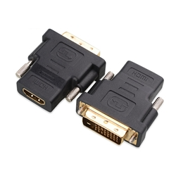 Gold Plated HDMI-F to DVI-M Video Adaptor