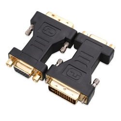 DVI to VGA Cable Adapter, Male to Female