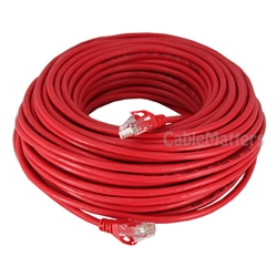 100ft Cat5E 350MHz UTP Stranded Assembled Network Cable
