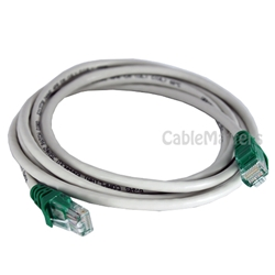 7ft Cat5E 350MHz Crossover Patch Cable