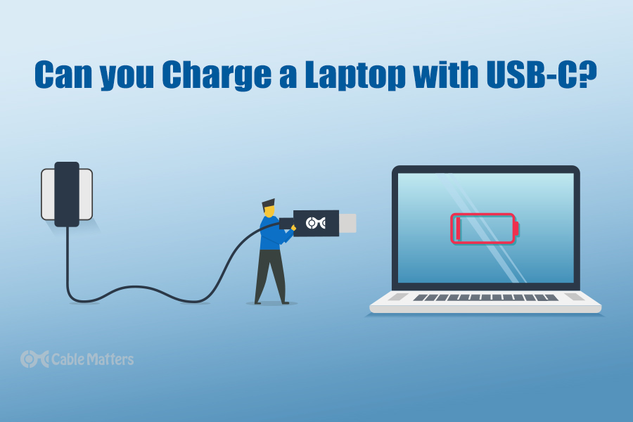 Can you Charge a Laptop with USB-C?