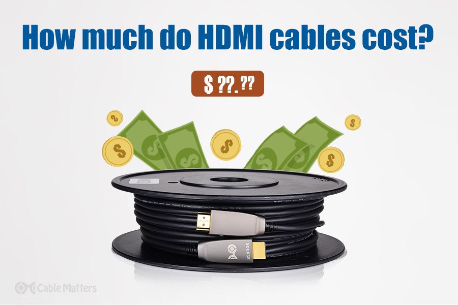 How much does an HDMI cord cost?