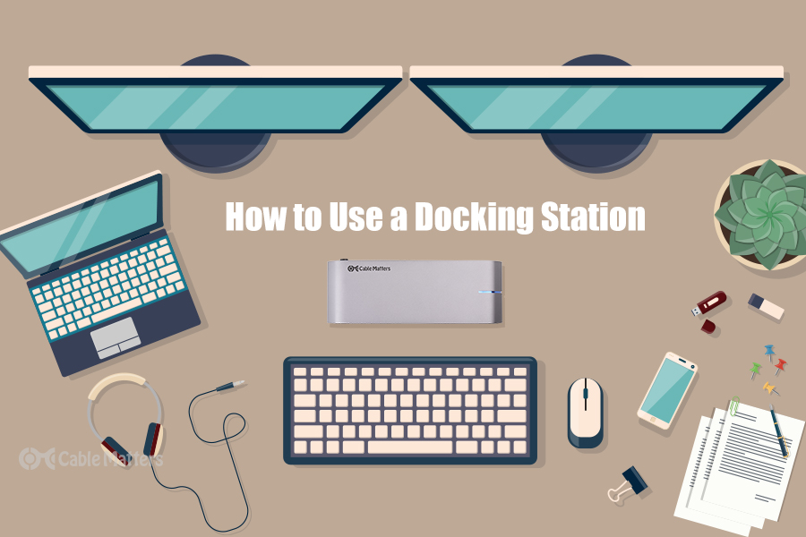 How to use a docking station