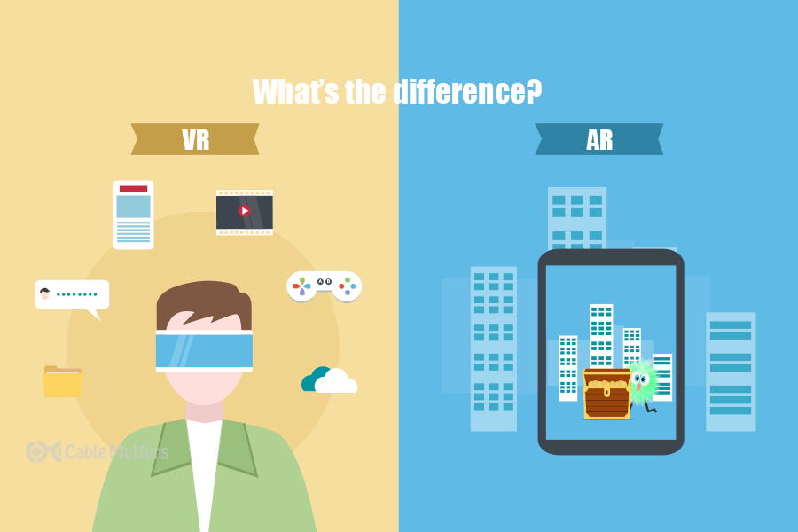VR vs. AR: What's the difference?