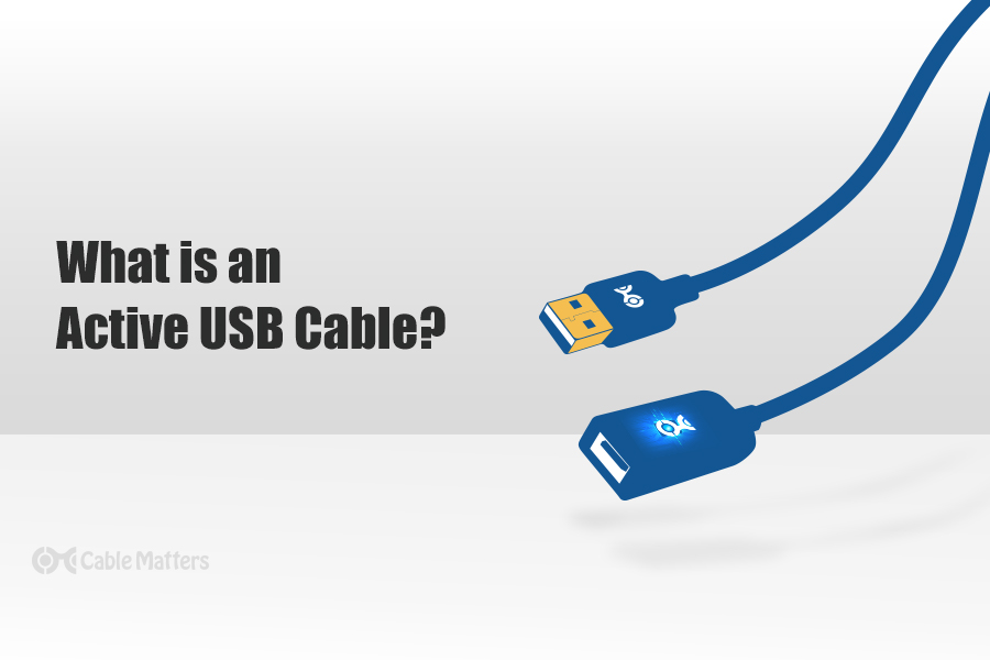 what is an active usb cable