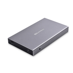 Cable Matters Aluminum USB 3.1 Gen 2 10Gbps External Hard Drive Enclosure (USB C to SATA SSD/HDD) with USB-C and USB-A Cables - Thunderbolt 3 Port Compatible