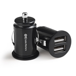 Cable Matters 2-Pack 4.8A 24W Flush Mount Dual USB Car Charger/Compact Mini Car USB Charger for Smartphones and Tablets