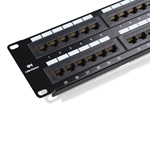 RJ45 110-Type 48-Port Cat 6 Patch Panel  CableMatters CableMatters.com