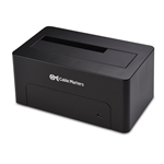Cable Matters USB 3.0 Hard Drive Docking Station (USB to SATA Docking Station) with 10TB+ Drive Support for 2.5 Inch & 3.5 Inch HDD SSD - USB-C Cable Included for Thunderbolt 3 & USB-C Computer