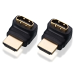Cable Matters 2-Pack 270 Degree Right Angle HDMI Adapter