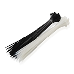 Cable Matters 100 Self-Locking 12-Inch Nylon Cable Ties in Black and White