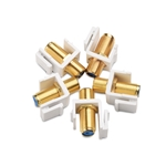 Cable Matters 5 Pack RG6 Keystone Jack Insert/Coaxial Keystone Jack Insert