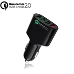 4-port USB Car Charger with Quick Charge 2.0
