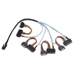 Cable Matters Internal Mini SAS to SAS Cable (SFF-8087 to SFF-8482) 1.6 Feet / 0.5m