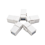 Cable Matters 5-Pack USB 3.0 Keystone Jack Inserts in White