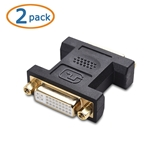 Cable Matters 2 Pack DVI to DVI Coupler (DVI Female to Female Adapter)