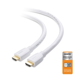 [Certified] Premium HDMI Cable with 4K HDR Support