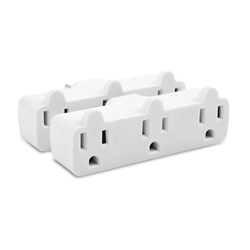 Cable Matters (2-Pack) 3-Outlet Grounded Wall Tap Strip