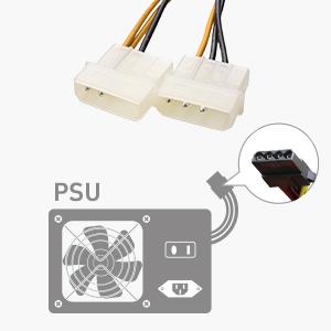 2x PSU Cable Connectors