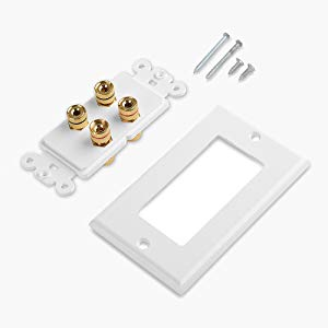 Speaker Wall Plate Package Contents