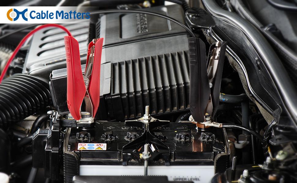 12V Car Battery Adapter Cord
