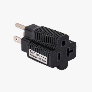 3-Pack 15 Amp to 20 Amp Adapter Plug / 20 Amp to 15 Amp Plug Adapter (NEMA 5-15 to 5-20R)