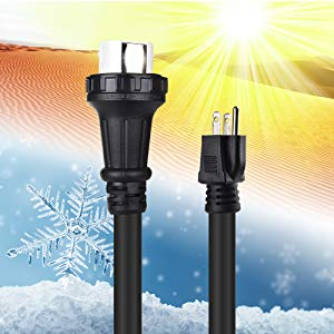 Outdoor Rated Generator Cord