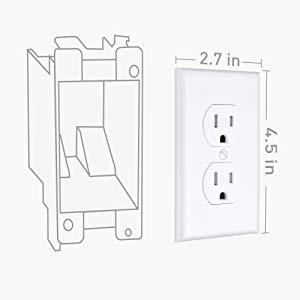 Single gang electrical box