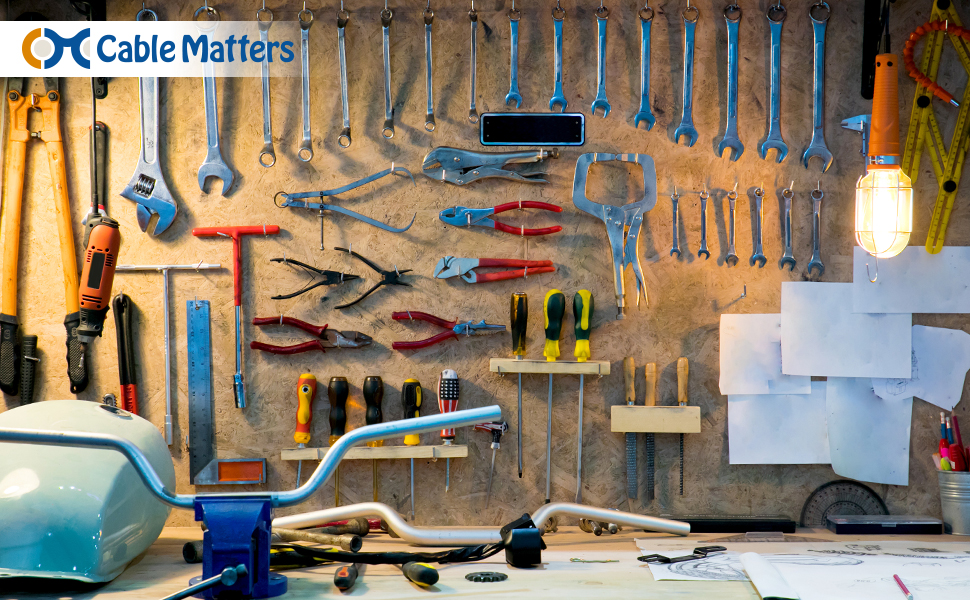 Electrical Cord Repair in Garage