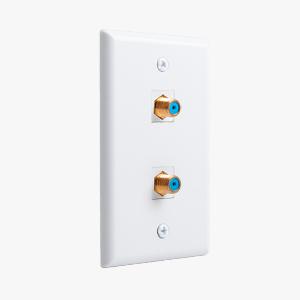 Keystone Jack Wall Plate Compatible