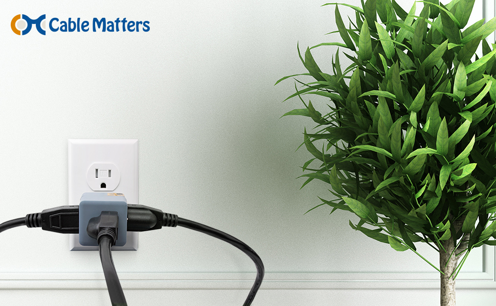 Compact AC Outlet Expander