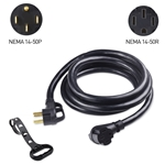 Cable Matters 4-Prong 50A RV Extension Power Cord (NEMA 14-50P to NEMA 14-50R)