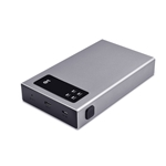 "Cable Matters Aluminum 10Gbps USB C Dual Bay Hard Drive Enclosure for 2.5"" SSD/HDD"