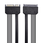 Cable Matters (2-Pack) 22-Pin Power and Data SATA Extension Cable