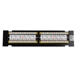 [UL Listed] Cable Matters 12-Port Cat6 / Cat 6 Vertical Mini Patch Panel with 89D Bracket