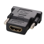 Cable Matters 2 Pack Gold Plated HDMI to DVI Adapter (HDMI Female to DVI Male)