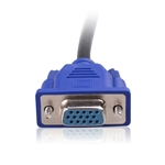 Cable Matters VGA Splitter Cable (VGA Y Splitter) for Screen Duplication - 1 Foot
