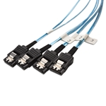 Cable Matters Internal Mini SAS to SATA Cable (SFF-8087 to SATA Forward Breakout) 1.6 Feet