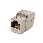 [UL Listed] Cable Matters 6-Pack RJ45 Shielded Cat6A Keystone Jack