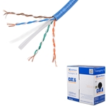 [UL Listed] Cable Matters Stranded Bare Copper Cat 6 / Cat6 Bulk Cable (Cat6 Ethernet Cable 1000 Feet)